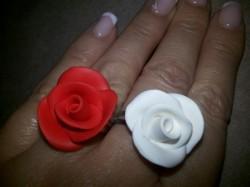 Rózsa gyűrű kész
